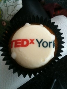 TEDxYork Cup cakes