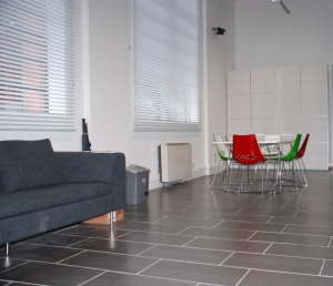 FCA's office - the meeting table and sofa
