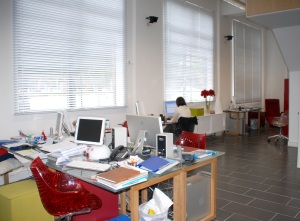 FCA's office - photo of the work area