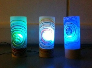 finished mood lamps